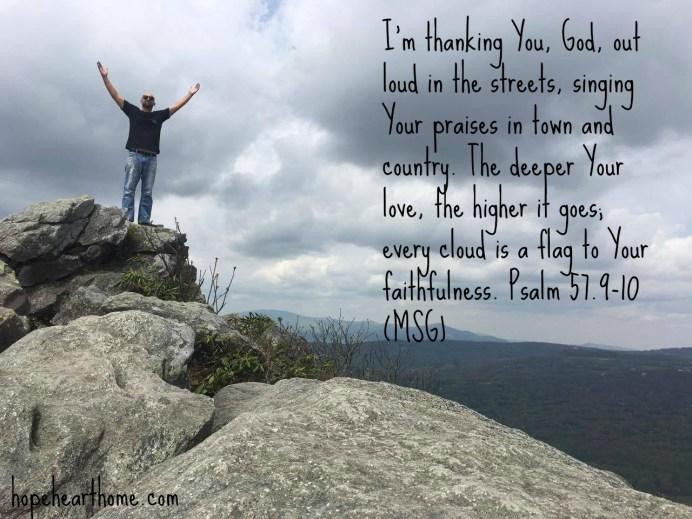 Quietude Psalm 57_9