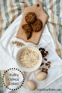 tasty tuesday: healthy oatmeal cookies