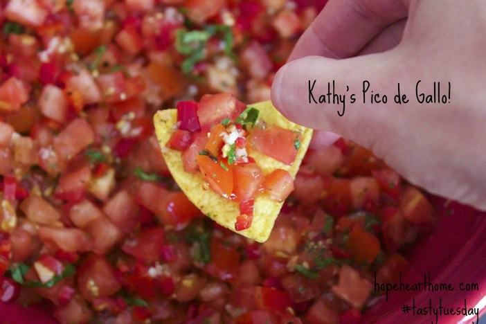 Tasty Tuesday Pico de Gallo