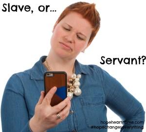 slave or servant