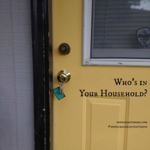who's in your household?