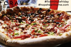 five minute friday: crave