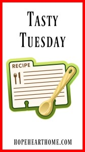 tasty tuesday: measurements and a meal