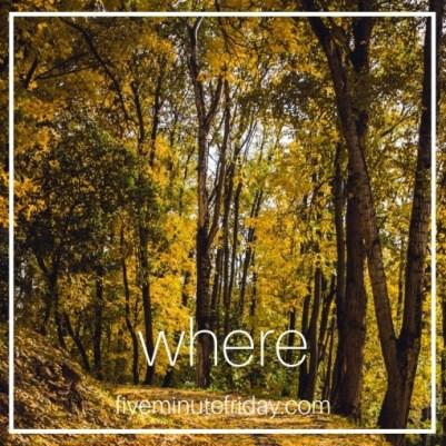 Kate said WHERE
