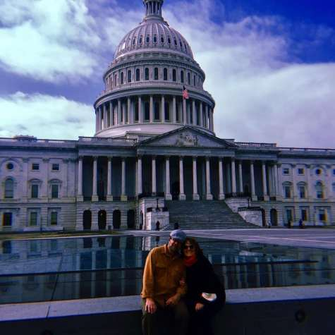 Mimz & Gramps at The Capitol Building, D.C.