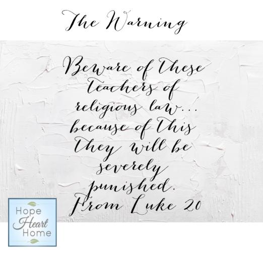 Lent - The Warning