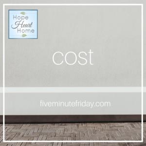 Kate said Cost