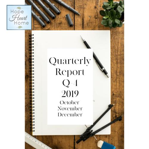 Quarterly Report Q4