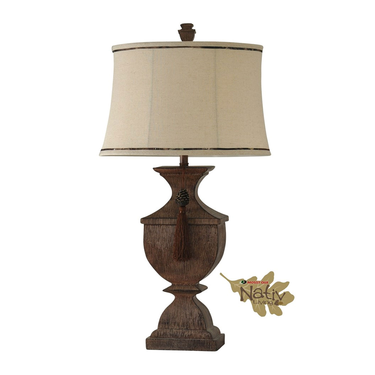 Stylecraft MO311285 Mossy Oak Table Lamp Hope Home