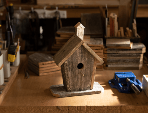 Completed Birdhouse