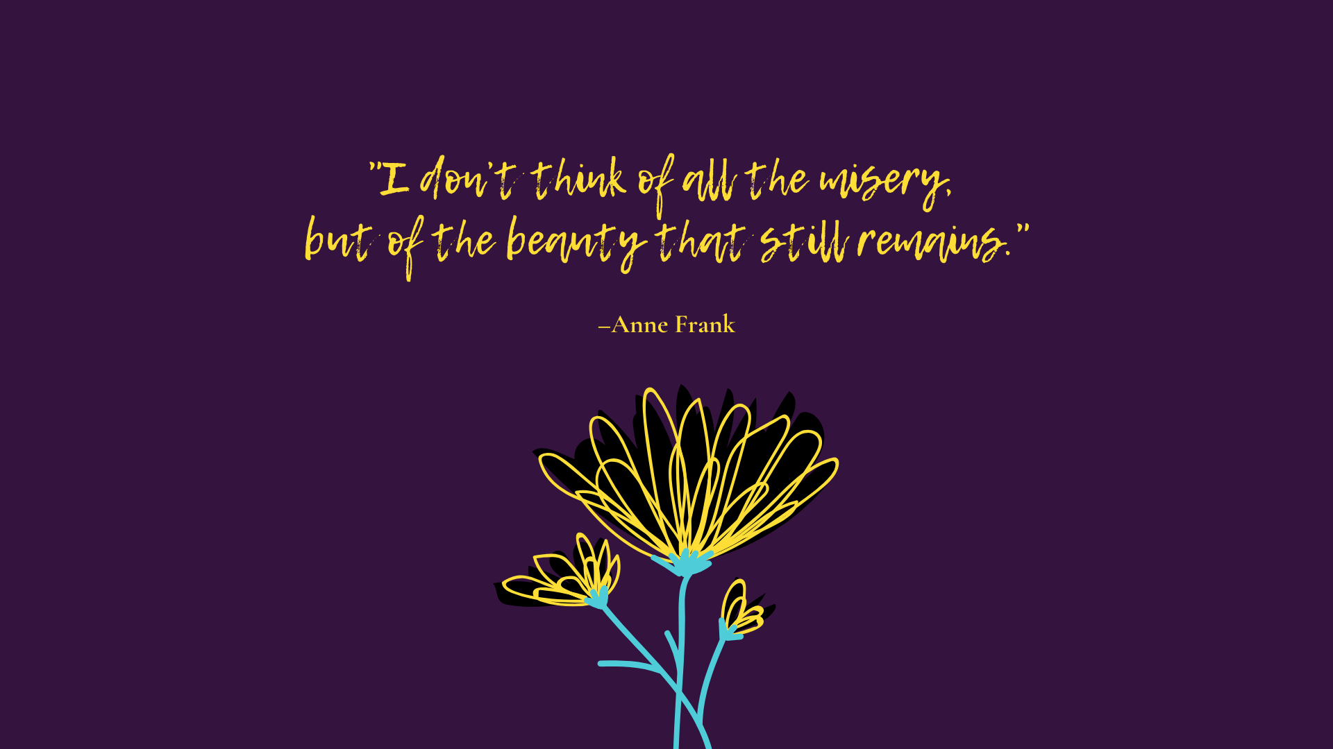 Anne Frank - beauty that still remains