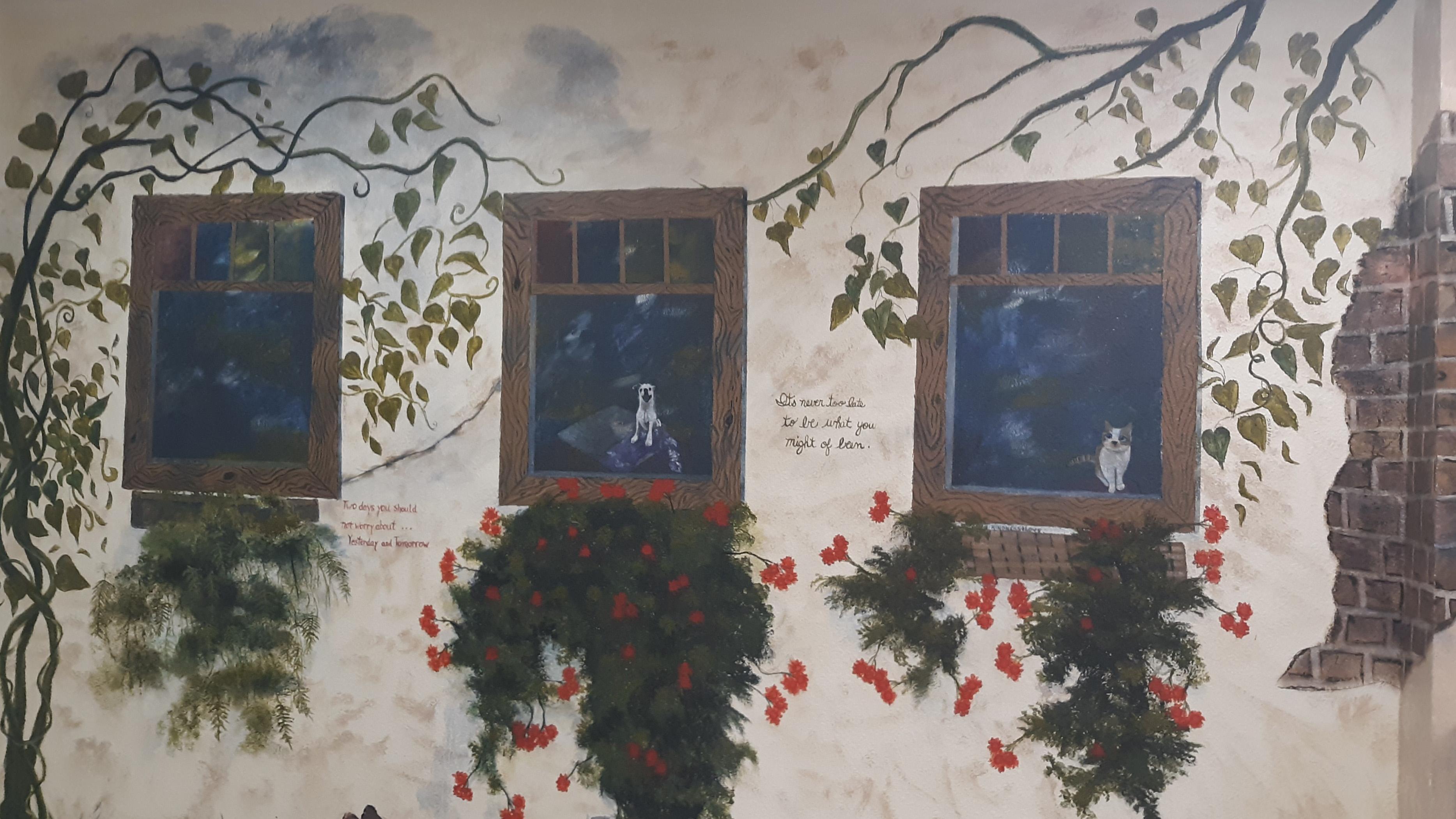Indio CRT Kitchen Mural