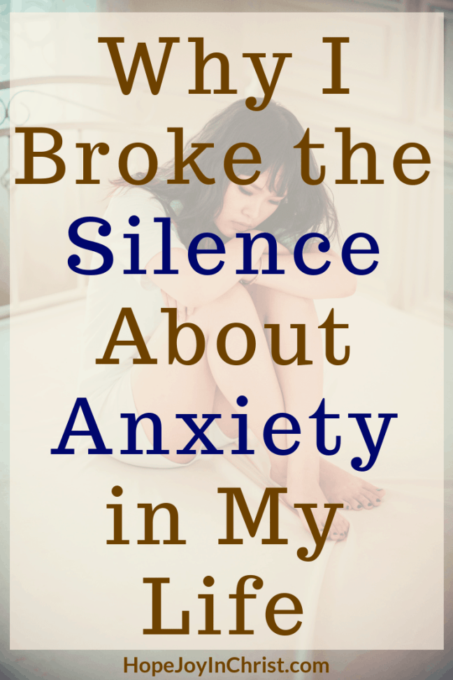 Why I Broke the Silence About Anxiety in My Life When we speak up about #Anxiety we help others. Share #AnxietyTips and prompt #MentalHealthAwareness