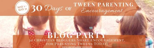 Tween Parenting Blog Party Invite