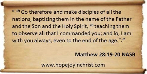 Go Make Disciples