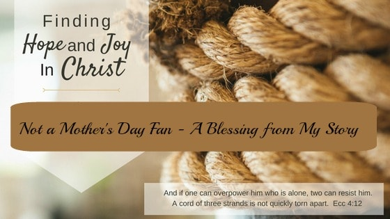 A Mother's Day Blessing from my story
