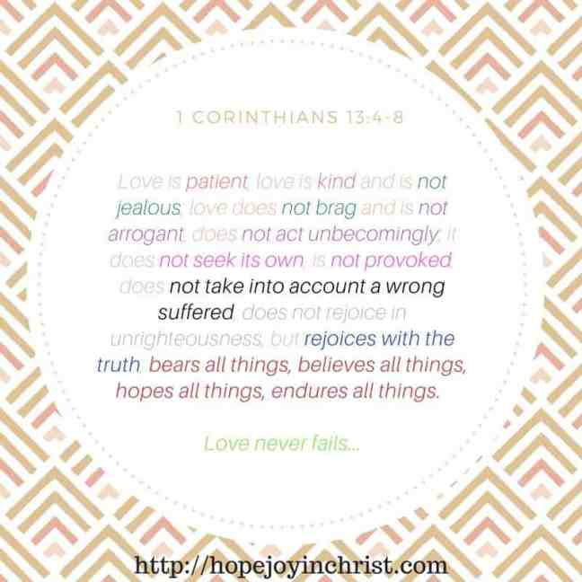 1 Corinthians 13 Marriage Monday