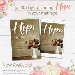 Hope for the Hurting Wife - Christian Marriage Book, Biblical Wifehood Resource