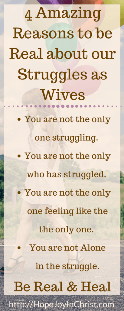 4 Reasons the World Needs Wives to Stop Being Fine - 4 Amazing Reasons to be Real about our Struggles as Wives LongPin (#chrisianMarriage Marriage tips Marriage Help Biblical Wifehood)