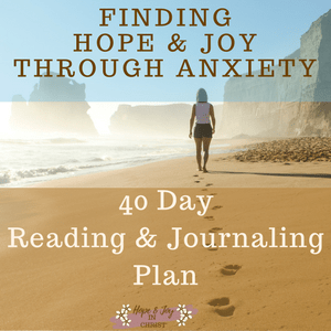 Finding Hope & Joy through Anxiety #SelfCare #Wellness #AnxietyHelp