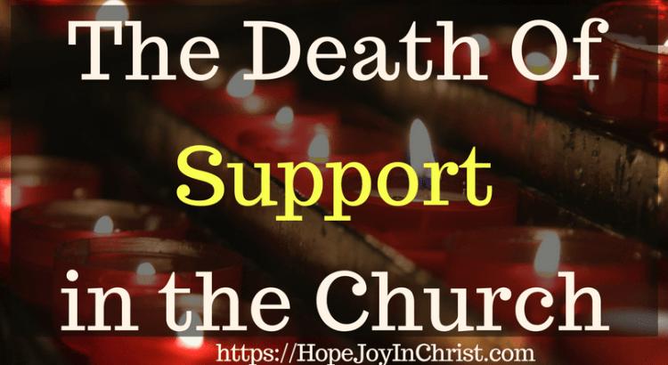 The Death Of Support in the Church #ChurchUnity #ChurchUnityquotes #ChurchUnityideas #ChurchUnityGod #ChurchUnityVerses #Prayerquotes #PrayerWarrior #PrayfortheChurch #SupportTheChurch #prayforhealing #prayforAmerica