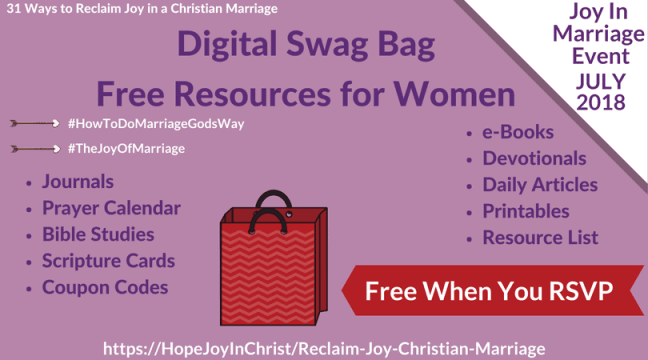 Swag Bag #marriageEvent #eventSwagBag #SwagBagForWomen #chrisianMarriage #JoyOfMarriage #RelcaimJoyInMarriage #BiblicalMarriage #MarriageConference #FreeMarriageResources#MarriageHelp
