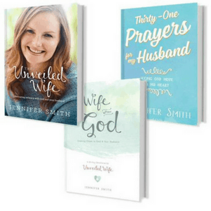 Bundle of books to Grow as a Wife from The Unveiled Wife. #WifeLife #ChristianWife #Biblicalwife #Marriageadvice #RelationshipTips #Giveaway #ChristianBooks #BibleStudy #ChristianMarriage #JoyInMarriage