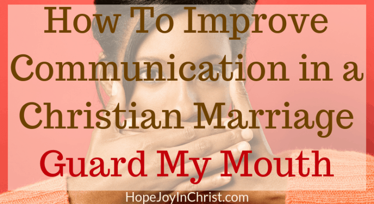 How To Improve Communication in a Christian Marriage Guard My Mouth Lord This is session Six in the marriage communication workshop where couples will learn marriage communication tips be guided through communication exercise, given tools to help with better communication. Wives will learn to improve intimacy while keeping their voice and stop feeling like a door mat in marriage. Respond vs react
