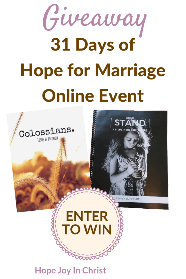Simple Scritpures Bible Study Giveaway - Hope for Marriage online Giveaway Page 2019. Giveaway. Giveaways. Giveaway and contests. Giveaway Time. Free Printables. Free Samples. Free Stuff. Free Products. Free Christian Products. Free Christian Products. #Giveaways #HopeJoyInChrist