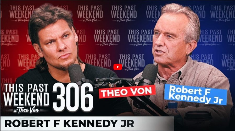 Theo Von and RFK jr.