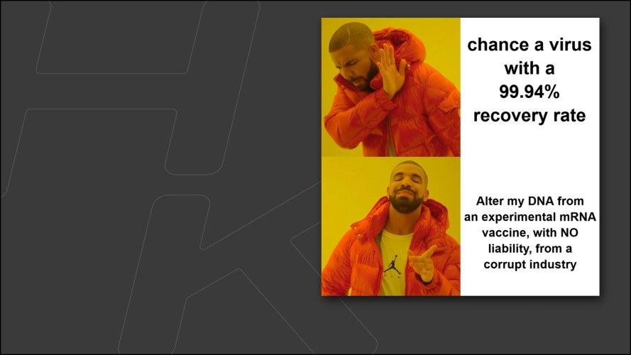 drake vaccine meme