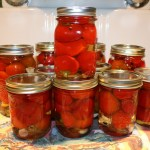 Pickled Red Cherry Hot Peppers