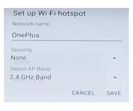 Setup OnePlus 5 WiFi Hotspot