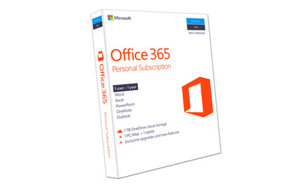 Microsoft Office 356 Personal of Top 7 Most Popular PC Software