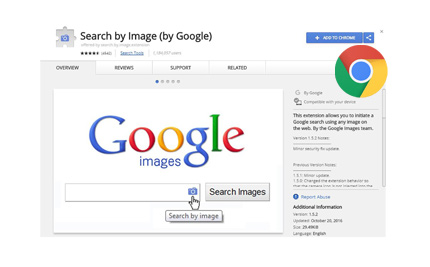 Search by image (by Google)