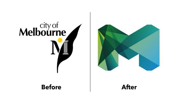 creative logo design ideas City Of Melbourne
