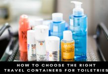 Travel Containers for Toiletries