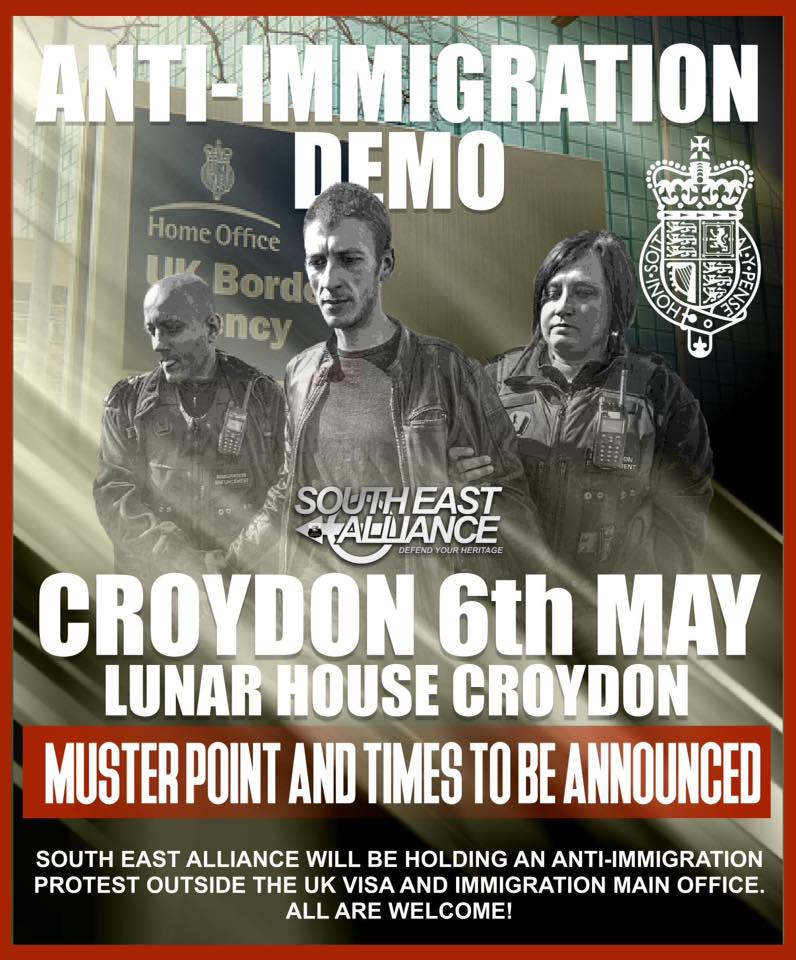 Image result for croydon anti immigration
