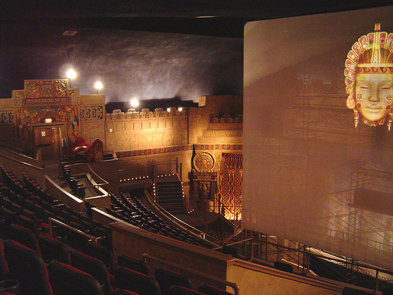 The Aztec Theatre San Antonio Texas Aimless Musings