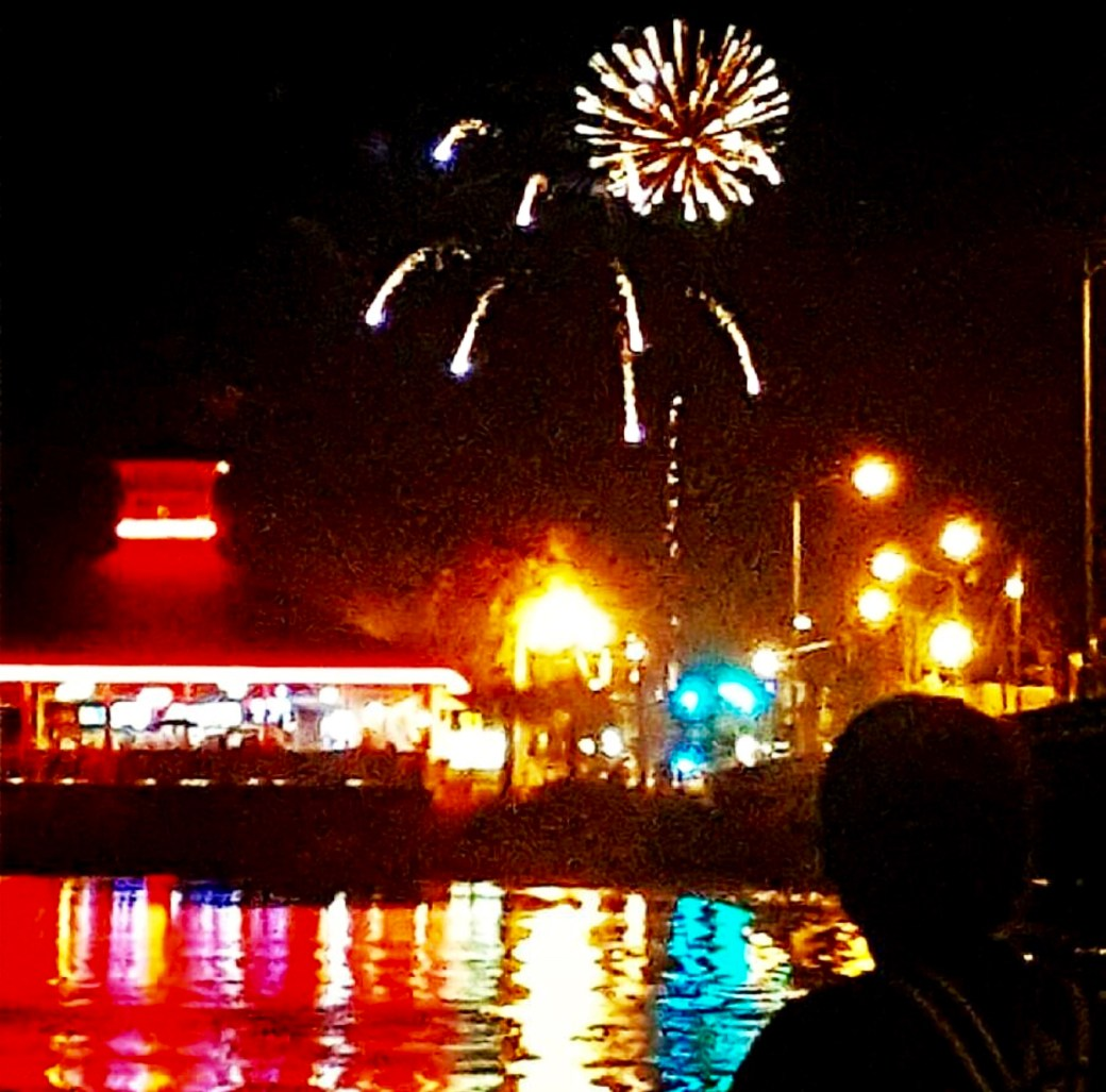fireworks, good things
