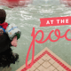 First time swimming - hopes home