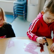 Partner Painting - ideas for Early Childhood Educators