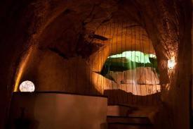 La Cascata nella Gold Cave