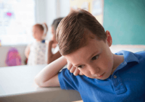 Separation anxiety can cause children to worry about their parents during the school day