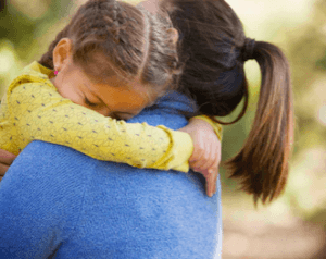 Separation anxiety can be difficult for children AND their parents