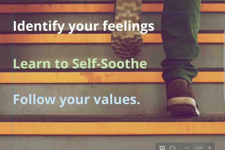 Steps to Emotional Regulation