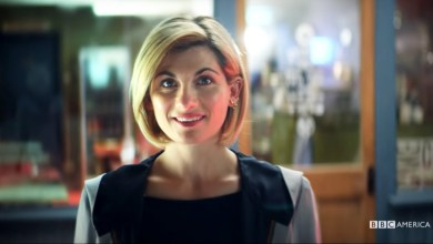 Jodie Whittaker as the Thirteenth Doctor