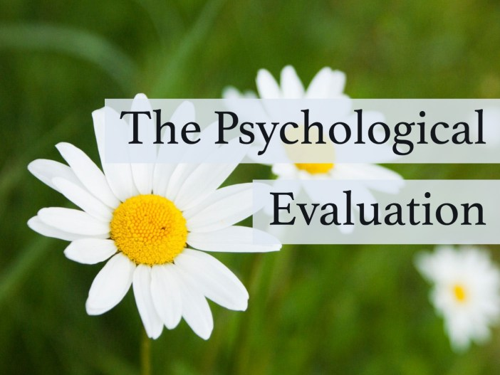 Psychological Evaluation