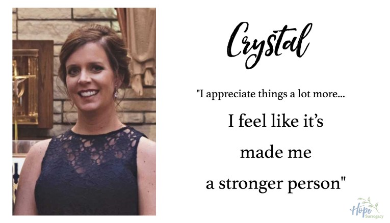 """""""I feel like it's made me a stronger person."""""""