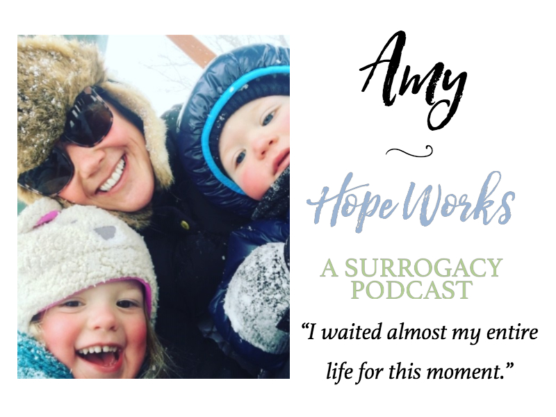 Amy, a Mom, Shares her Surrogacy Story
